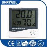 Higrómetro pouco termômetro de Digitas do dispositivo para medir a temperatura HTC-1