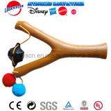 Giocattolo di plastica dello Slingshot di legno per la promozione del capretto