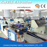 Ligne/extrudeuse spiralées spiralées d'extrusion de boyau d'aspiration d'helice de la pipe Machine/PVC de PVC