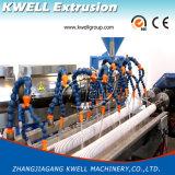 Schneckenabsaugung-Schlauch-Strangpresßling-Zeile/Extruder des Belüftung-gewundene Rohr-Machine/PVC gewundene