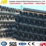 Tubazione d'acciaio saldata nera di Sch40 ERW/tubo d'acciaio sezione vuota rotonda
