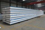 中国の工場からのカラー鋼板EPS/PUサンドイッチパネル