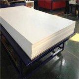 Белый матовый жесткий ПВХ лист для вакуума и печать