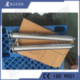 La línea de acero inoxidable en el tubo del filtro de agua y el proveedor de filtro