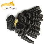 Cabelo peruano de trama do Virgin do preço de fábrica do cabelo de Remy da forma