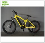 48V 350W mittlerer Bewegungselektrisches Fahrrad mit fettem Gummireifen