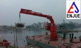 Elektrischer hydraulischer Offshoreknöchel-teleskopischer Hochkonjunktur-Lieferungs-Plattform-Marine-Kran