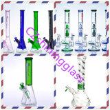Tubo di fumo di vetro di vetro dell'acqua di Incycler di nuovo colore brillante
