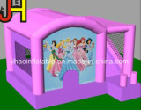 Theme Inflatable Bouncer Castle美の王女のスライド