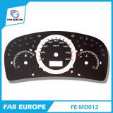Fe-MD012 velocímetro digital 2D do velocímetro Personalizado Faceplates e iluminação para automóveis universal