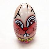 Contenitore a forma di di stagno del cioccolato dell'uovo per la festa di Pasqua