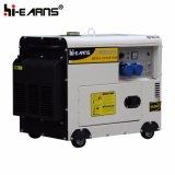 Type silencieux refroidi à l'air générateur diesel triphasé (DG4500SE3)