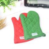 Эко - дружественных индивидуальные кухни кухонные рукавицы и перчатки для выпечки с вышивкой логотипа
