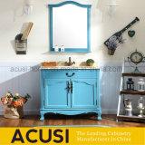 Gabinete moderno americano da vaidade do banheiro da madeira contínua do estilo (ACS1-W78)