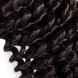 사람의 모발은 살롱을%s 자연적인 색깔 Remy 머리 연장을 묶는다