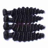 Droit naturel des cheveux humains brésilien d'extension avec la cuticule complet