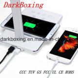 Chargeur de batterie sans fil portatif universel d'accessoires de téléphone mobile avec la lampe de Tableau de DEL