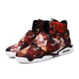 El aire del color de la manera se divierte los zapatos de baloncesto de Desgastar-Resistencia de la alta ayuda del baloncesto de los zapatos de los hombres