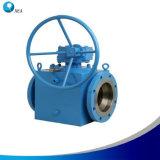 API 6D上エントリ石油およびガスの管ラインのためのトラニオンによって取付けられる球弁
