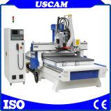 ATC-Holzbearbeitung CNC-Fräser-Maschine mit Sägeblatt-bohrende Köpfe