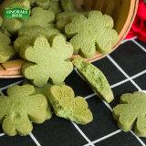 Grünes Matcha Vermögens-gesunde Feiertags-Plätzchen