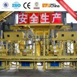 La última cadena de producción de la pelotilla de la biomasa de Yufeng