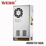 Bloc d'alimentation modèle de Weho S-400-5 IP20 5V 60A
