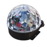 6*3W 6 색깔 Rgbwop DJ는 디스코 KTV 당 LED 단계 수정같은 마술 공 점화를 때린다
