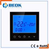 Termostato del riscaldamento di pavimento della stanza dello schermo di tocco con elettricità 16A