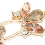 Monili di vetro di modo degli orecchini di goccia di &Rhinestone di colori K9 del nobile tre