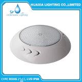 AC12V 3000K blanco cálido, lleno de resina de la luz de la piscina LED