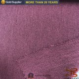 Tweedsuiting-Gewebe 100% des Polyester-300d kationisches Herringbone für Kleid
