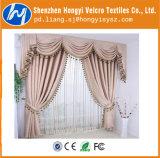 Forte de Nylon pegajoso com gancho e tiras de Velcro para cortinas