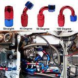 Línea de combustible de petróleo del eslabón giratorio guarnición de extremo del manguito derecho