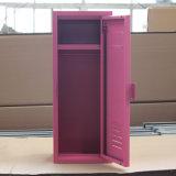 寝室の鋼鉄家具の単一のドアの小型金属のロッカー