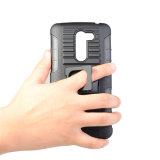 3 in 1 cassa Shockproof resistente dell'armatura ibrida dura robusta dura di Kickstand per il LG K10