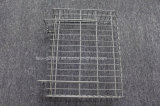 Metalldraht-Ineinander greifen-Regal-Teiler für Supermarkt-Gondel-Zahnstangen