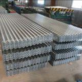 Hoja de acero galvanizada onda del metal de Ibr/azulejos de azotea esmaltados
