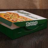Cajas de cartón calientes de la venta de la impresión a todo color BRITÁNICAS para la pizza