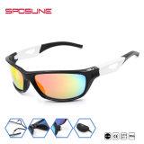 Eyewearを循環させる釣ゴルフのための黒く大きいフレームのスポーツのサングラス
