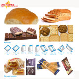 De automatische Machine van de Verpakking van de Chocolade van de Stroom voor Ijslolly, de Lollie van het Ijs, Handschoenen, Zeep, Brood