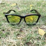 Occhiali da sole unisex dello specchio della fabbrica anabbagliante calda di vendita UV400 Cina