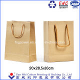 Usine de sacs de magasinage Direct Brown Sacs en papier kraft sacs de papier commercial