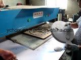 Máquina cortando hidráulica da bandeja do alimento fresco