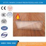 Le verre trempé teinté multiforme anti UV bord poli à isolation thermique en verre coupe-feu