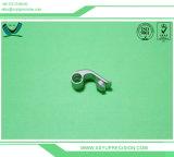 Tournage CNC aluminium anodisé noir boutons moletés