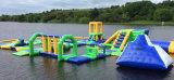 Parque inflável da água do mar/lago, parque inflável portátil do Aqua do PVC