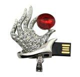 Подарок Diamond Колдунья стороны Crystal USB-диск пера