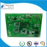Placa de circuito plateada oro de la placa de circuito impreso del oro de la inmersión de 4 capas de PCB de encargo