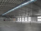 상한 무거운 강철 구조물 상점 집 또는 저장 또는 작업장 건물